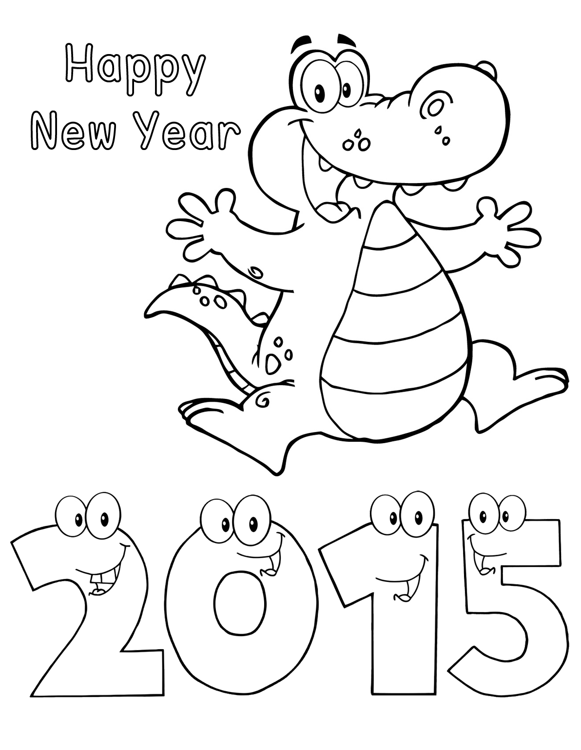 2015 coloring pages