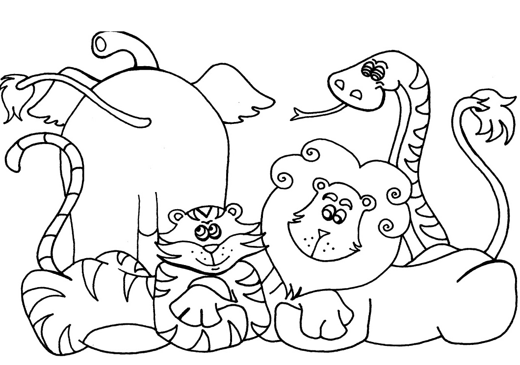 africa coloring pages to print - photo#30