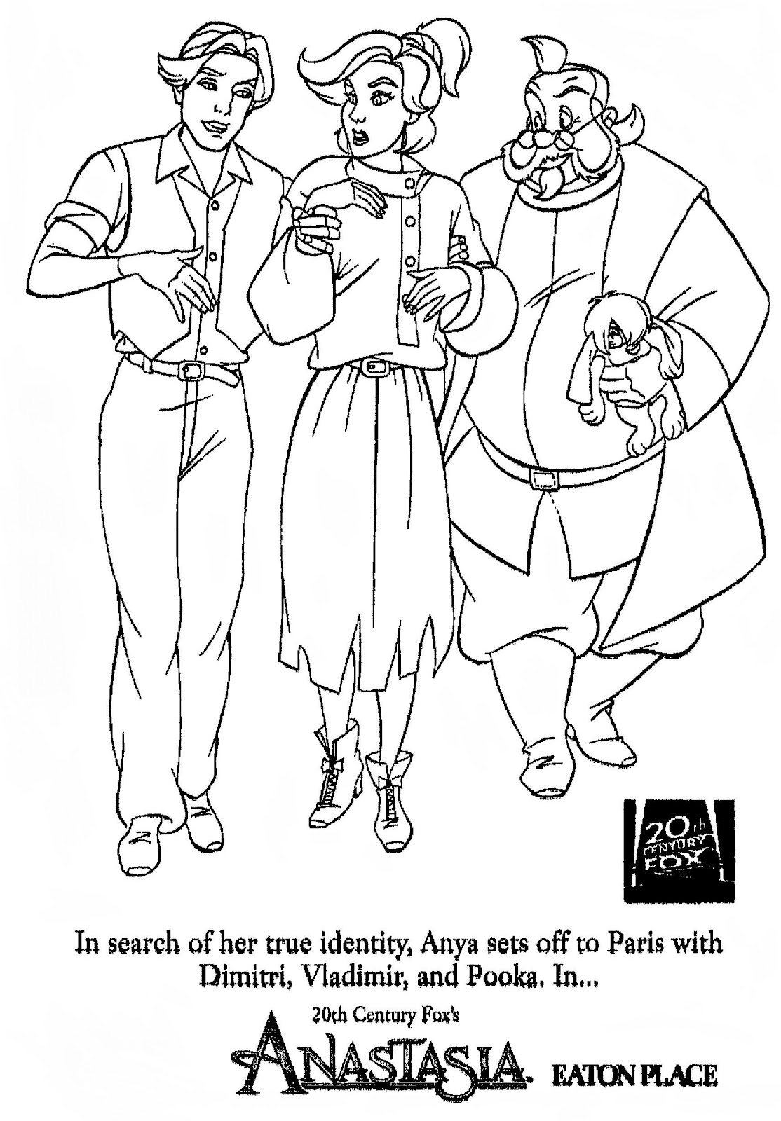 anastatia coloring pages - photo#29