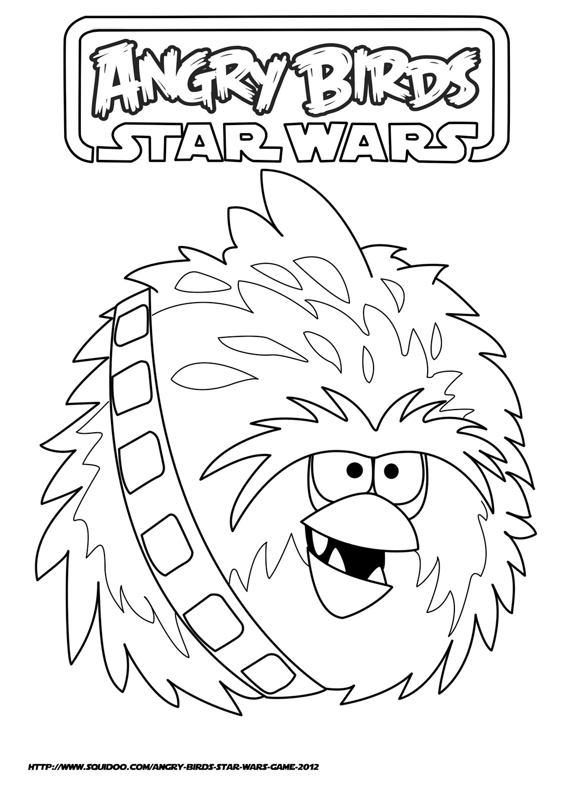 Angry Birds Star Wars Coloring Pages Titlermedicin Website