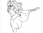 barbie fashion coloring page | Only Coloring Pages