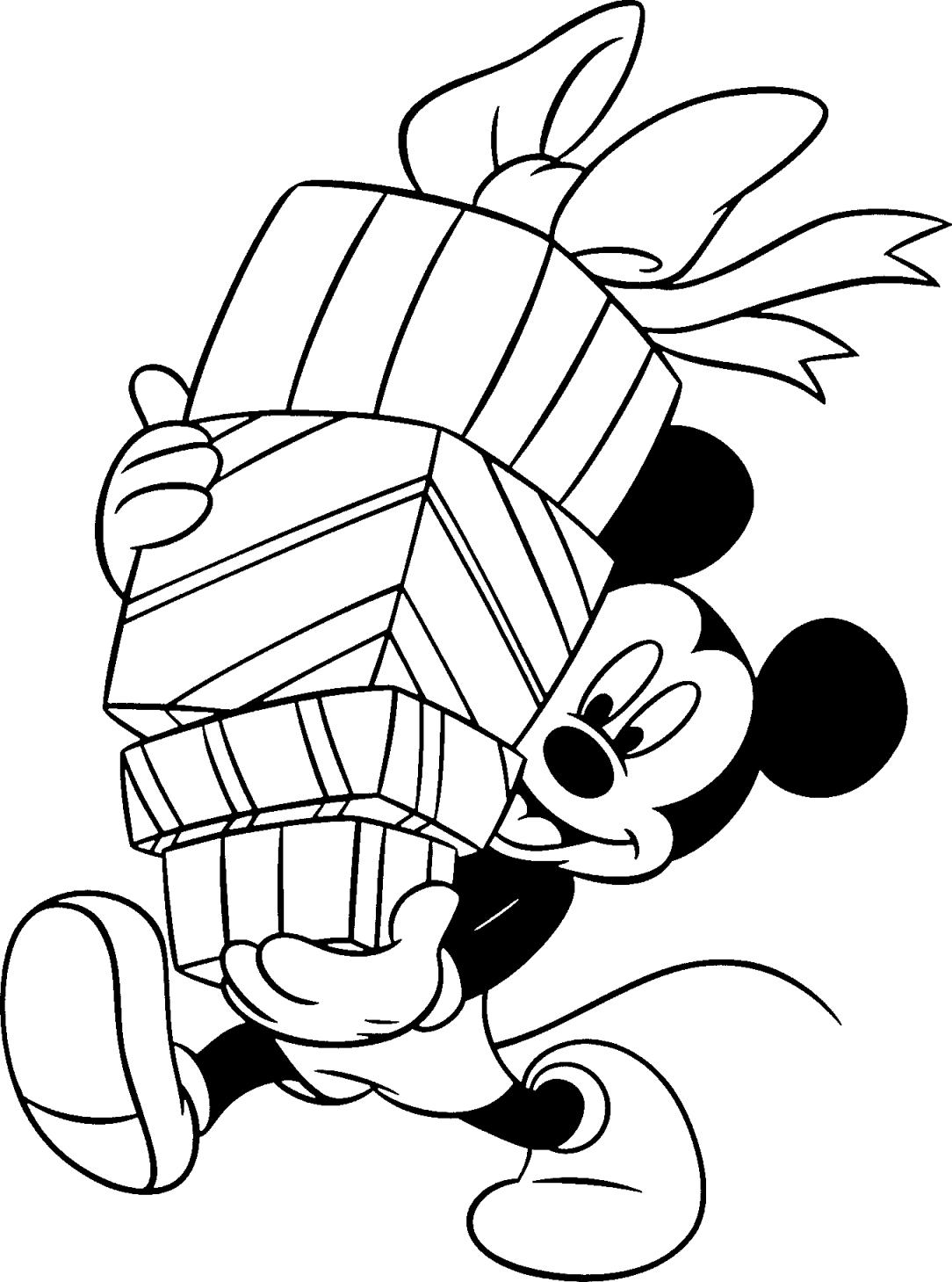 birthday mickey mouse coloring pages 01
