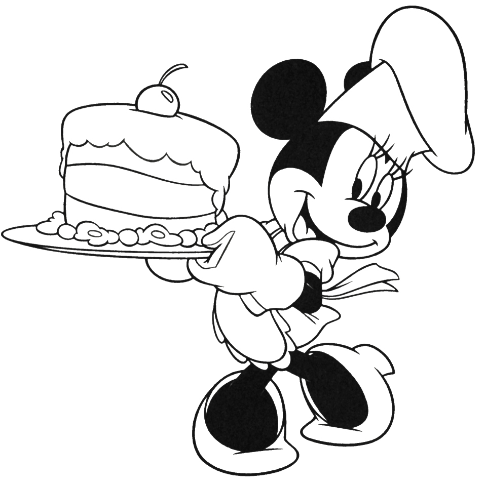 Coloring Pages Mickey Mouse Birthday : Birthday mickey mouse coloring pages only