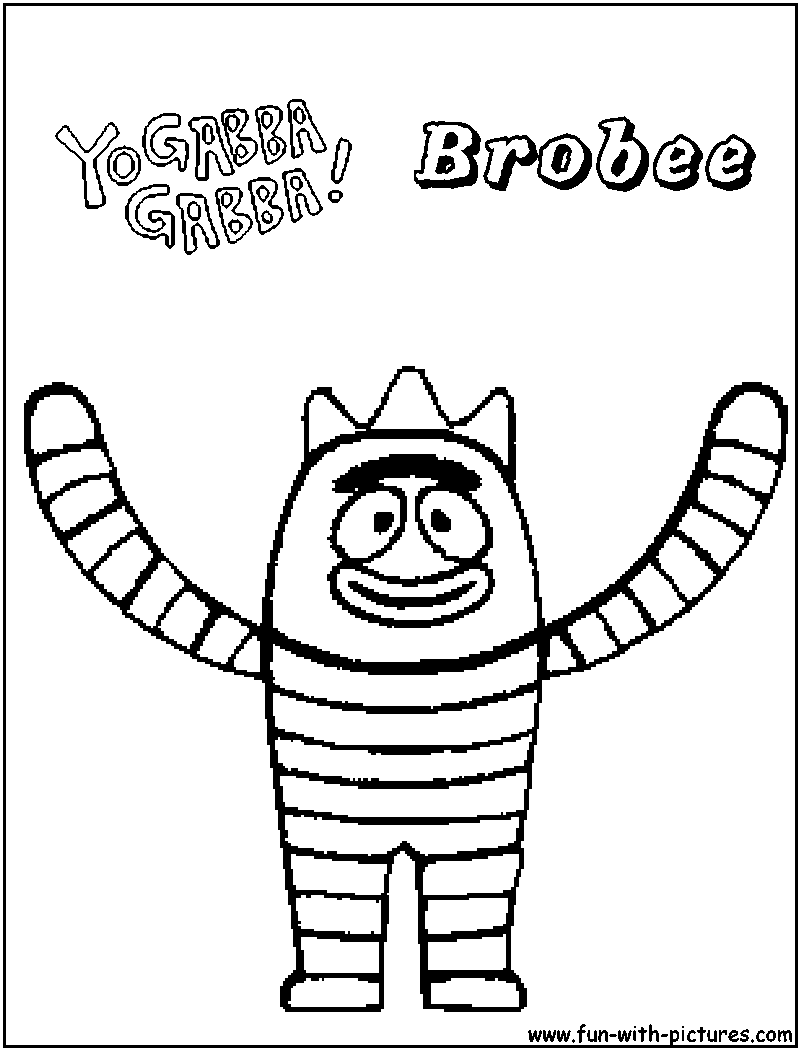 brobee coloring page brobee coloring pages only coloring pages