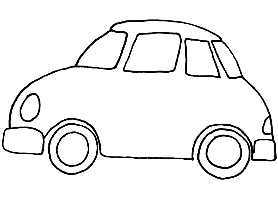 Car Cute Coloring Pages