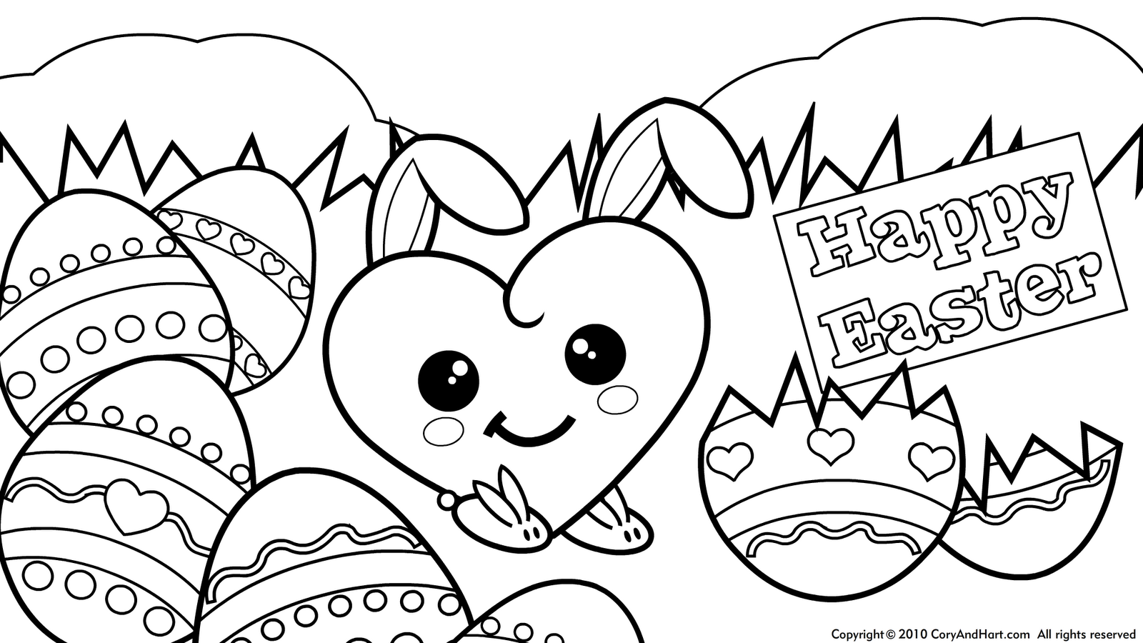 coloring pages of cute things coloring pages. Black Bedroom Furniture Sets. Home Design Ideas
