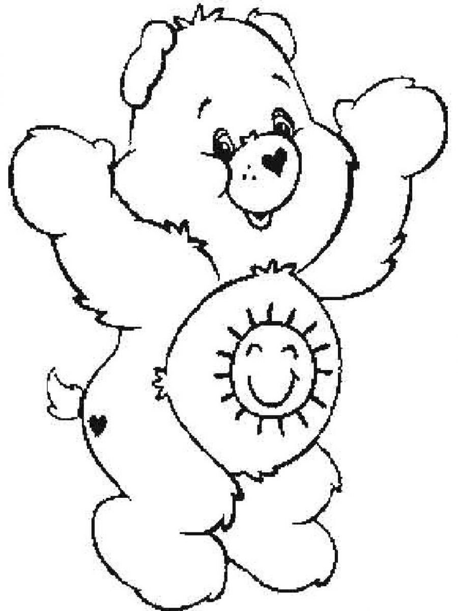care bears coloring pages Only