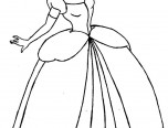 cindirella coloring pages