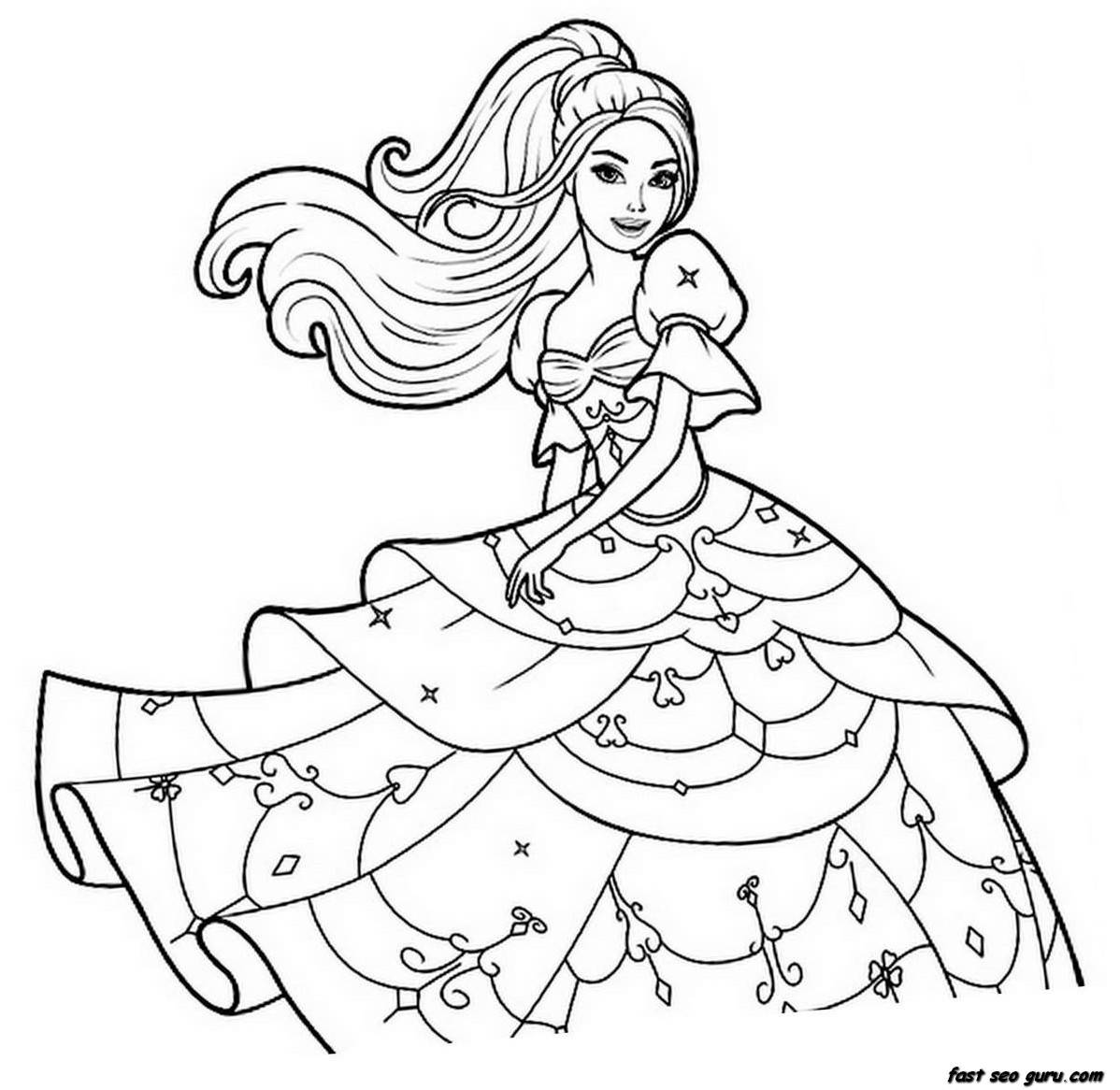 coloring pages for girls | Only Coloring Pages