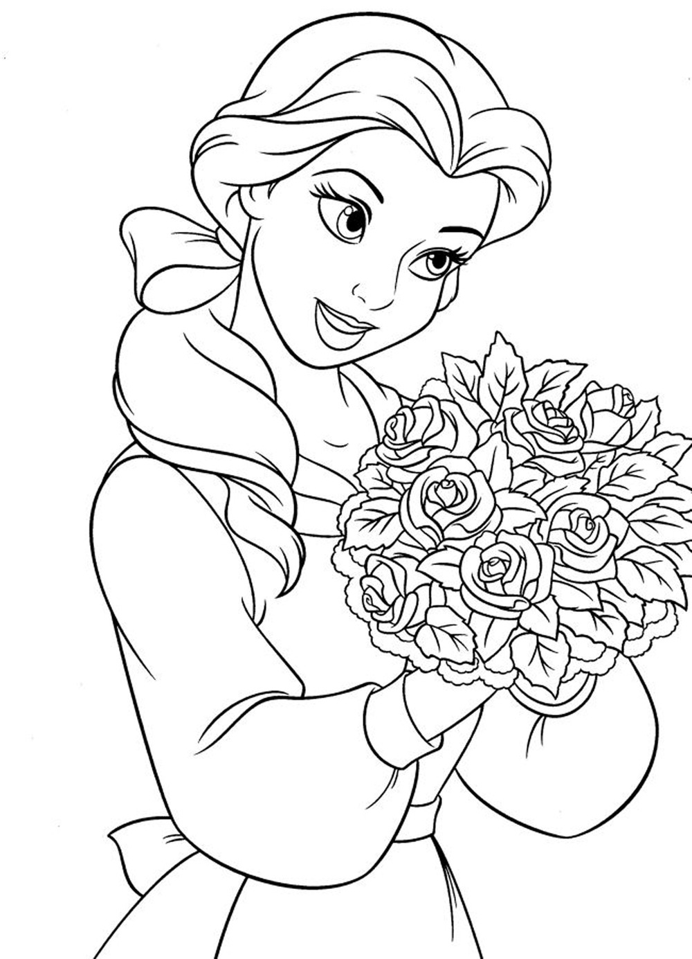 girls free coloring pages - photo#20