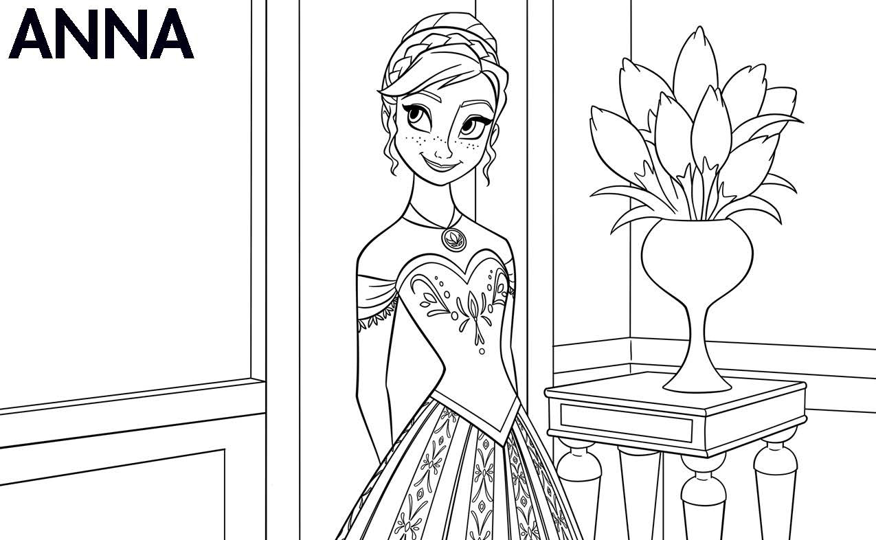 Coloring pictures frozen only coloring pages for Frozen coloring pages free