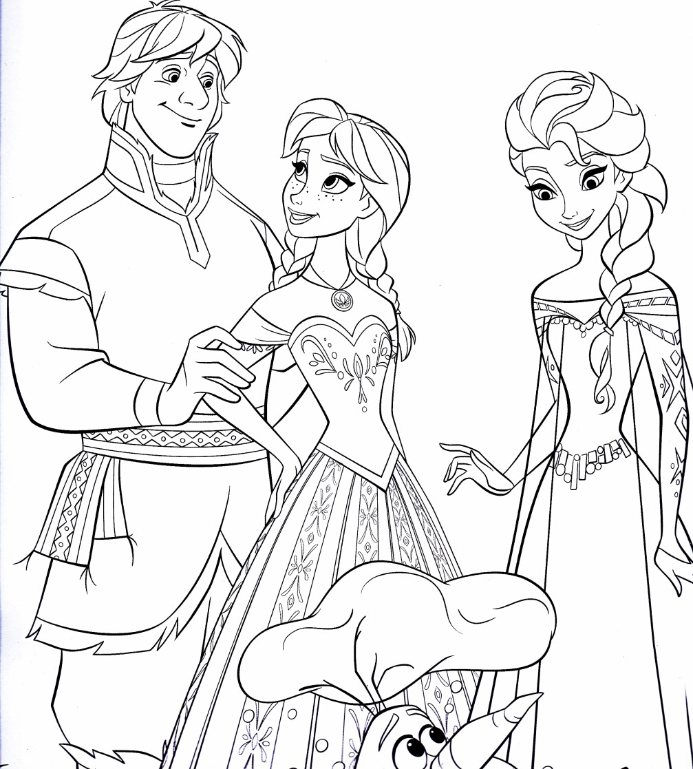 Disney coloring pages frozen only coloring pages for Frozen coloring pages free