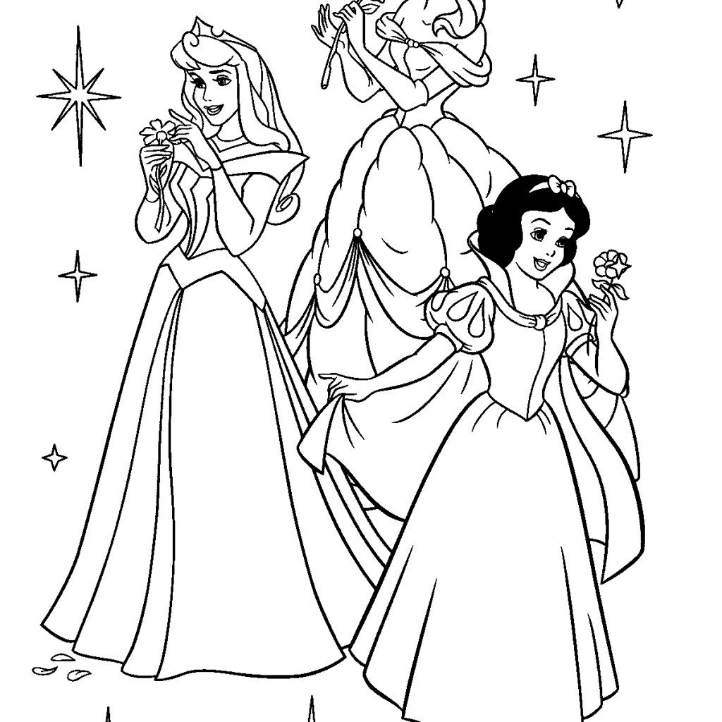 Disney Frozen Coloring Pages To Print For Kids