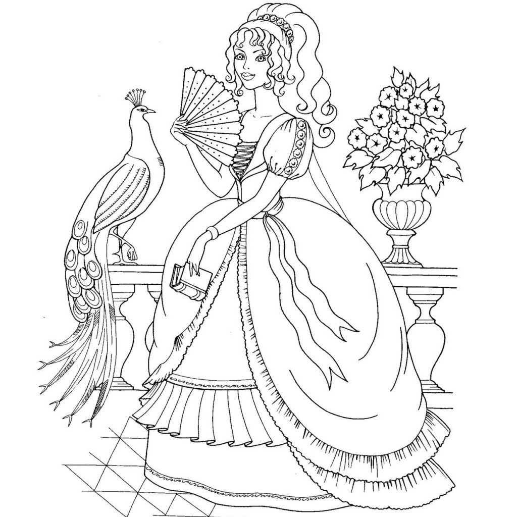 Disney Princess Coloring Book Deluxe Page Pages 09 Ballerina Download