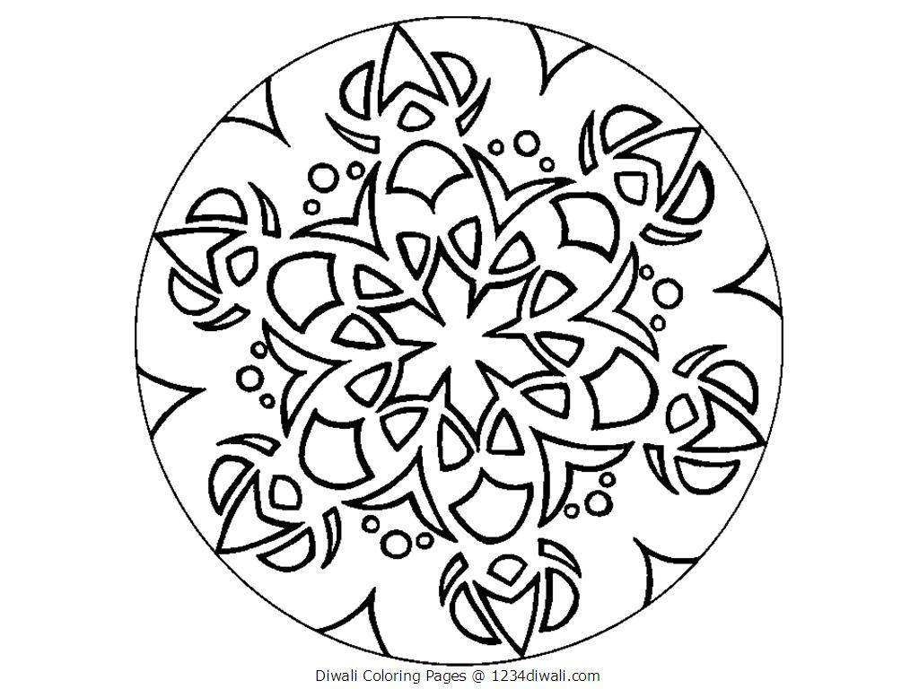 Eid colouring in sheets - Diwali Coloring Pages Only Coloring Pages