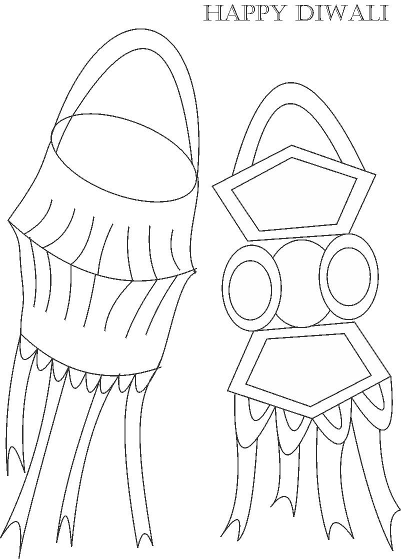diwali coloring pages Only Coloring Pages