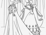 elsa magic coloring page