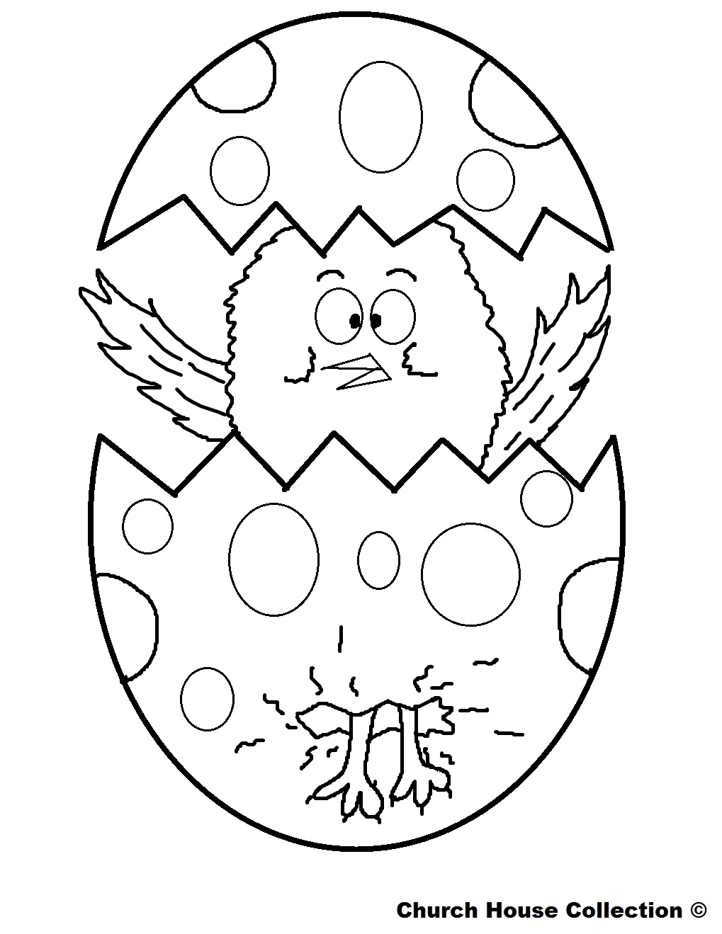 Free printable easter egg coloring pages only coloring pages for Free easter coloring page
