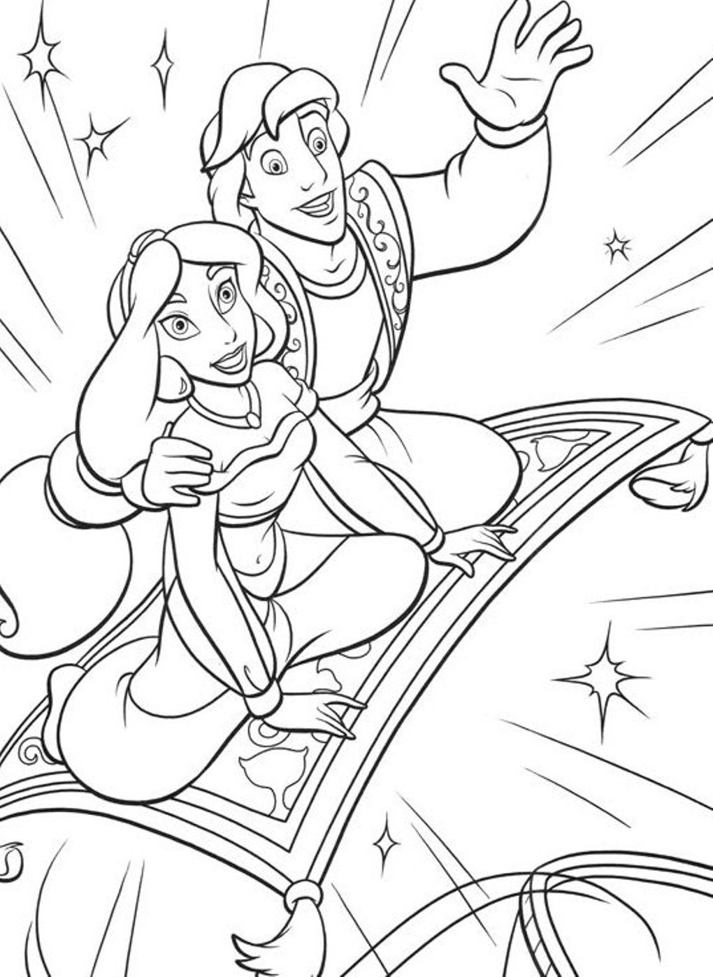 jazmin coloring pages - photo#23