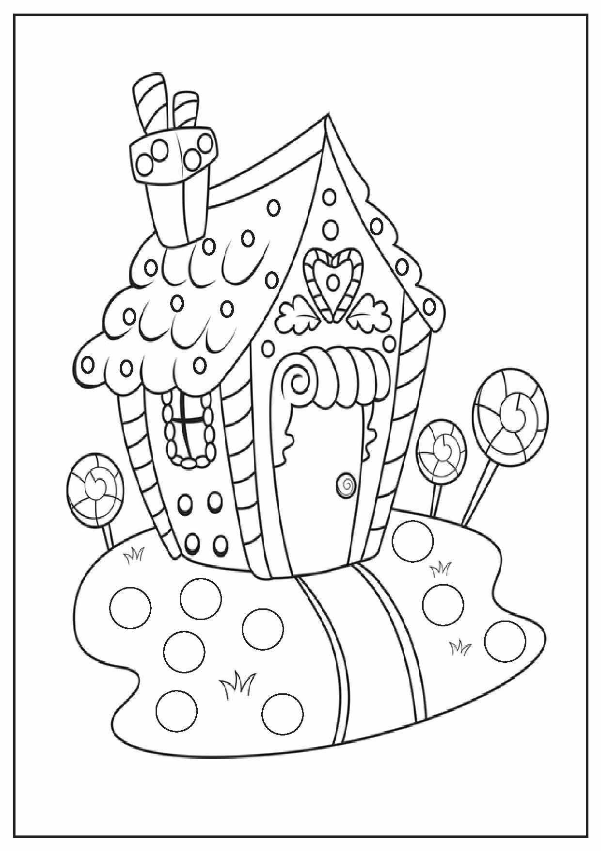 holiday coloring book pages - photo#44