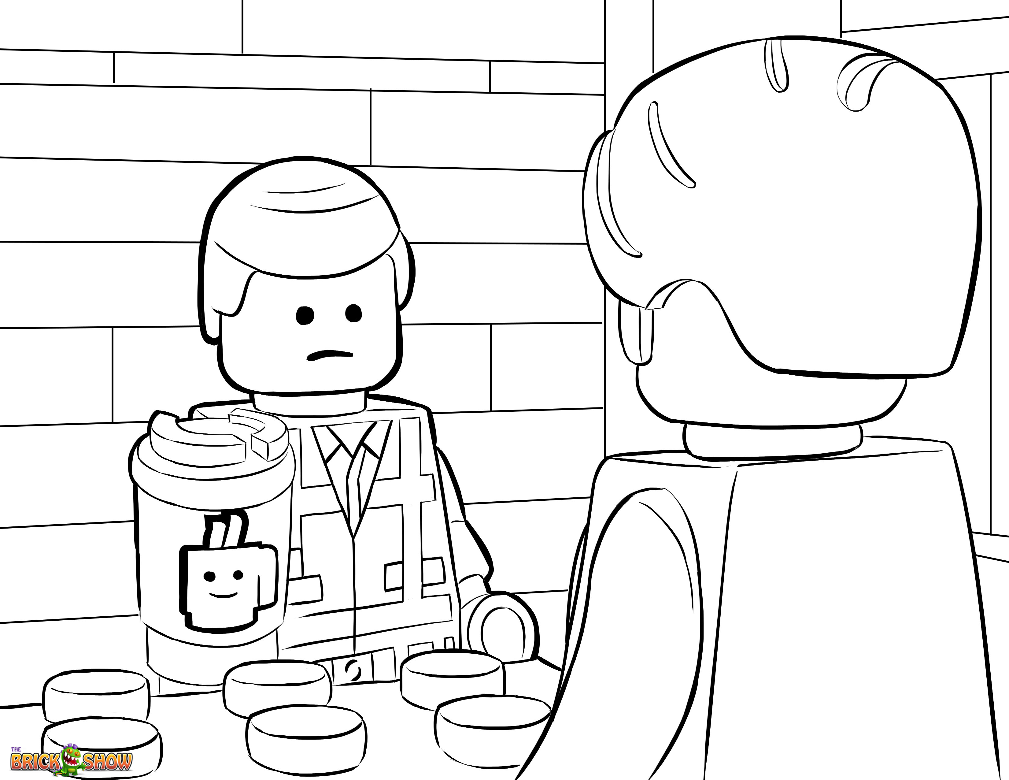 lego coloring sheets  01