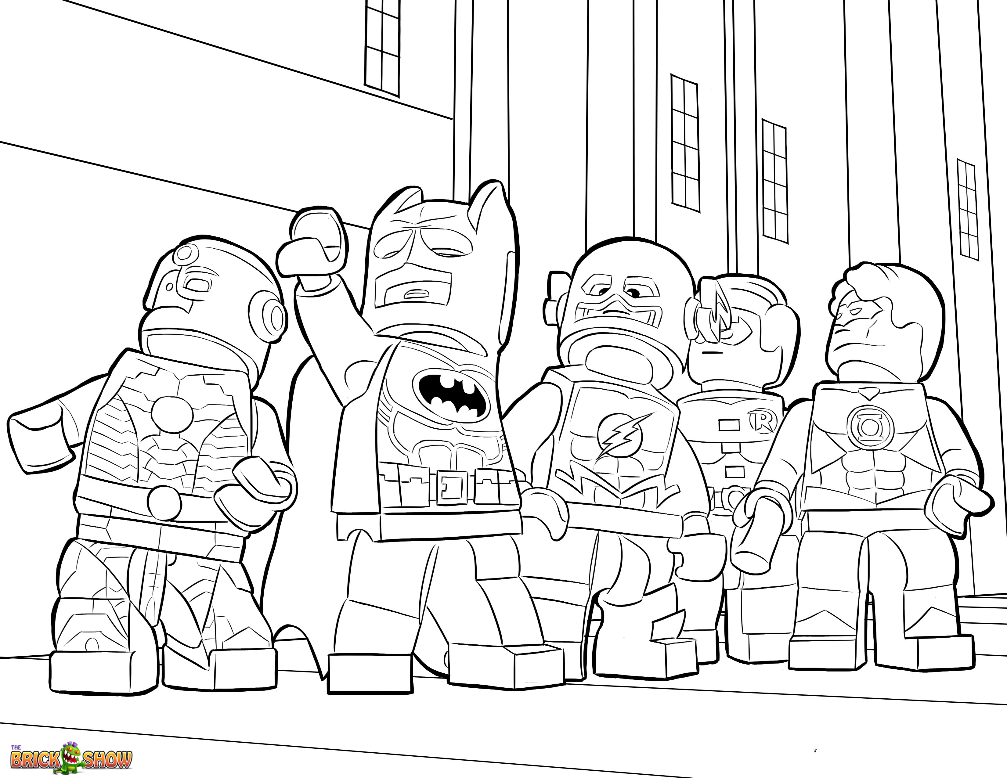 Lego coloring sheets only coloring pages for Lego color page