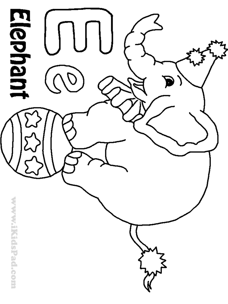 e coloring pages - photo #19
