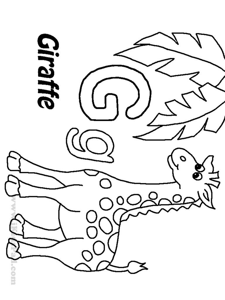 g coloring pages print - photo #34