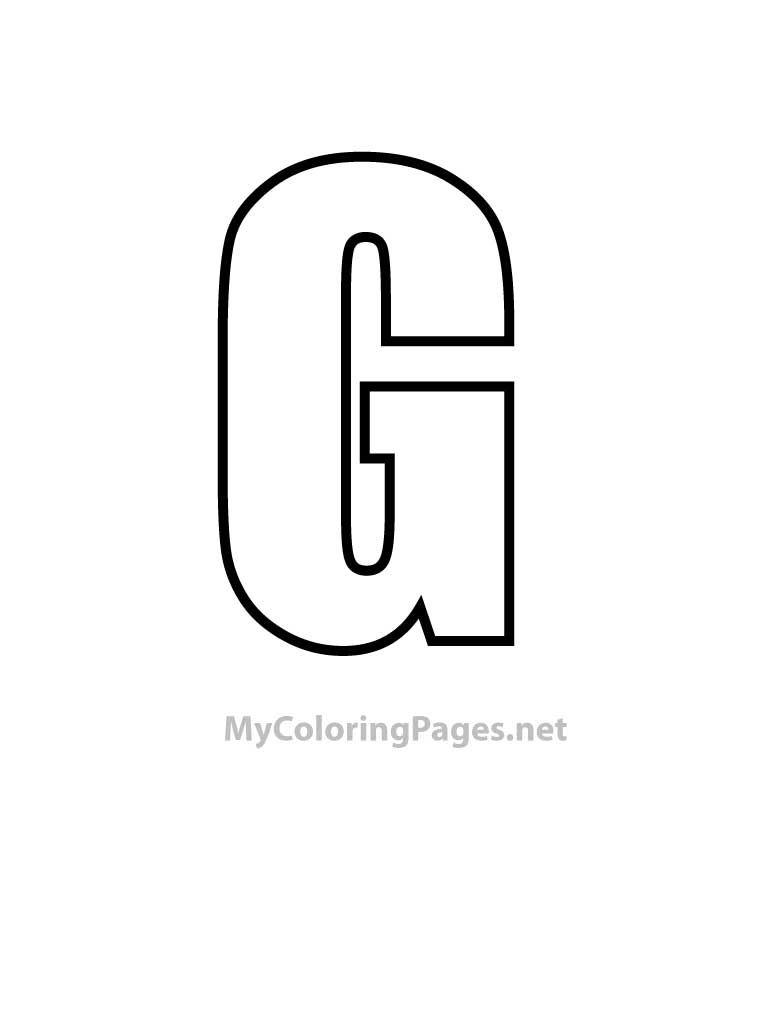 letter g coloring pages 07
