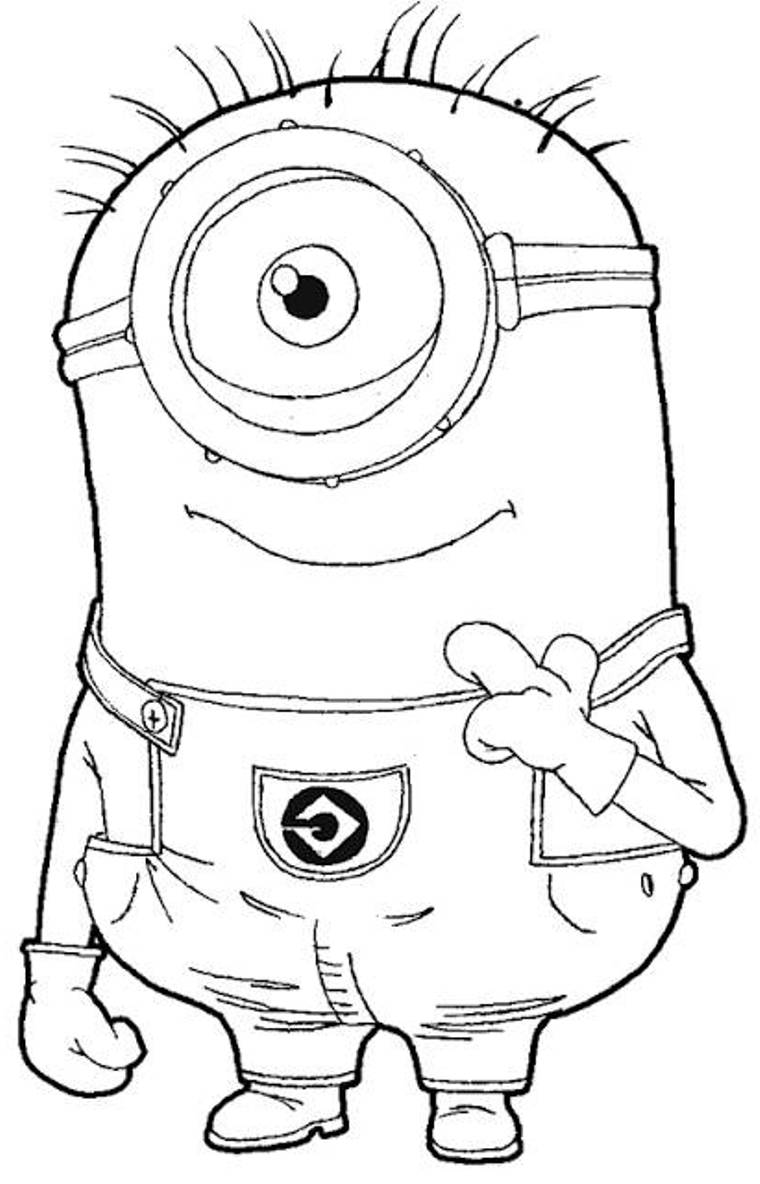 Minion Superhero Coloring Pages Coloring Pages