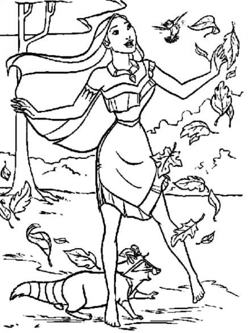 pocahontas coloring pages | Only Coloring Pages