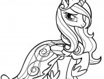 pony coloring pages