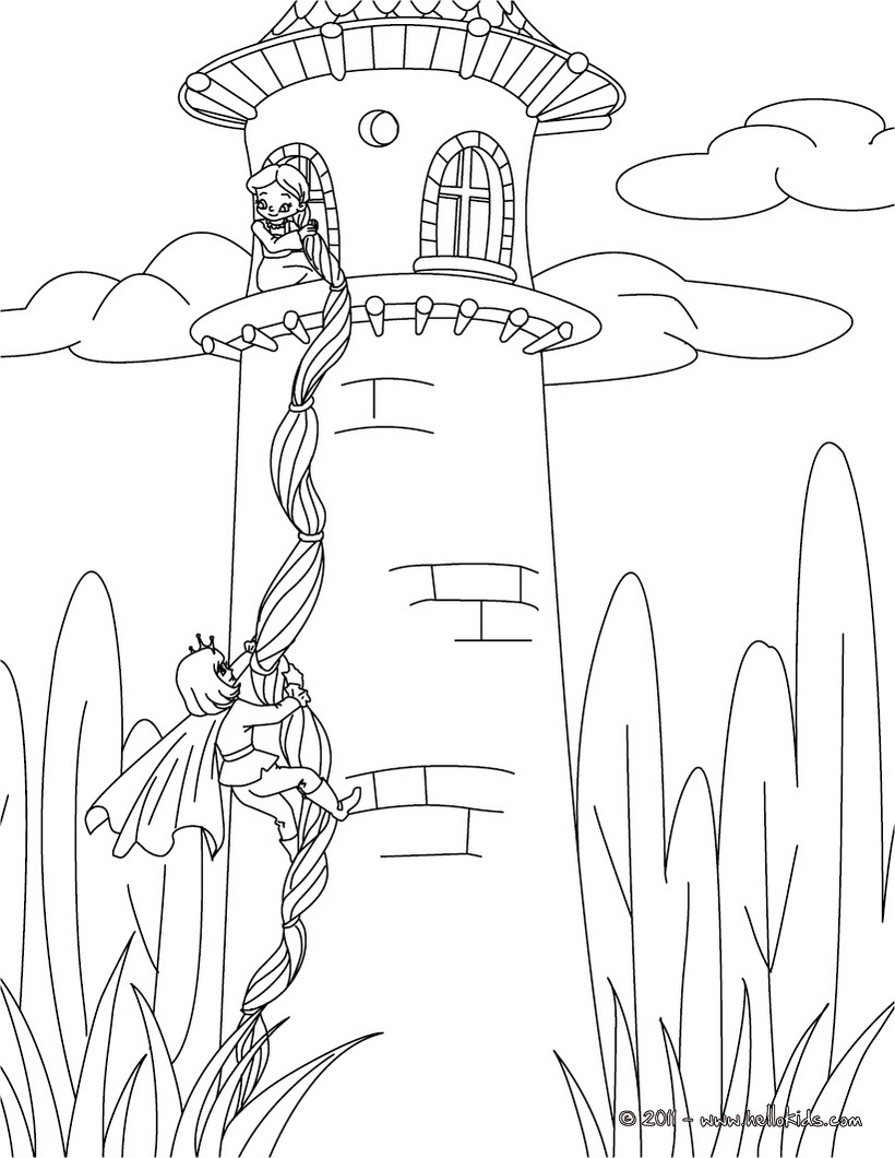 tangled poster coloring pages - photo#37