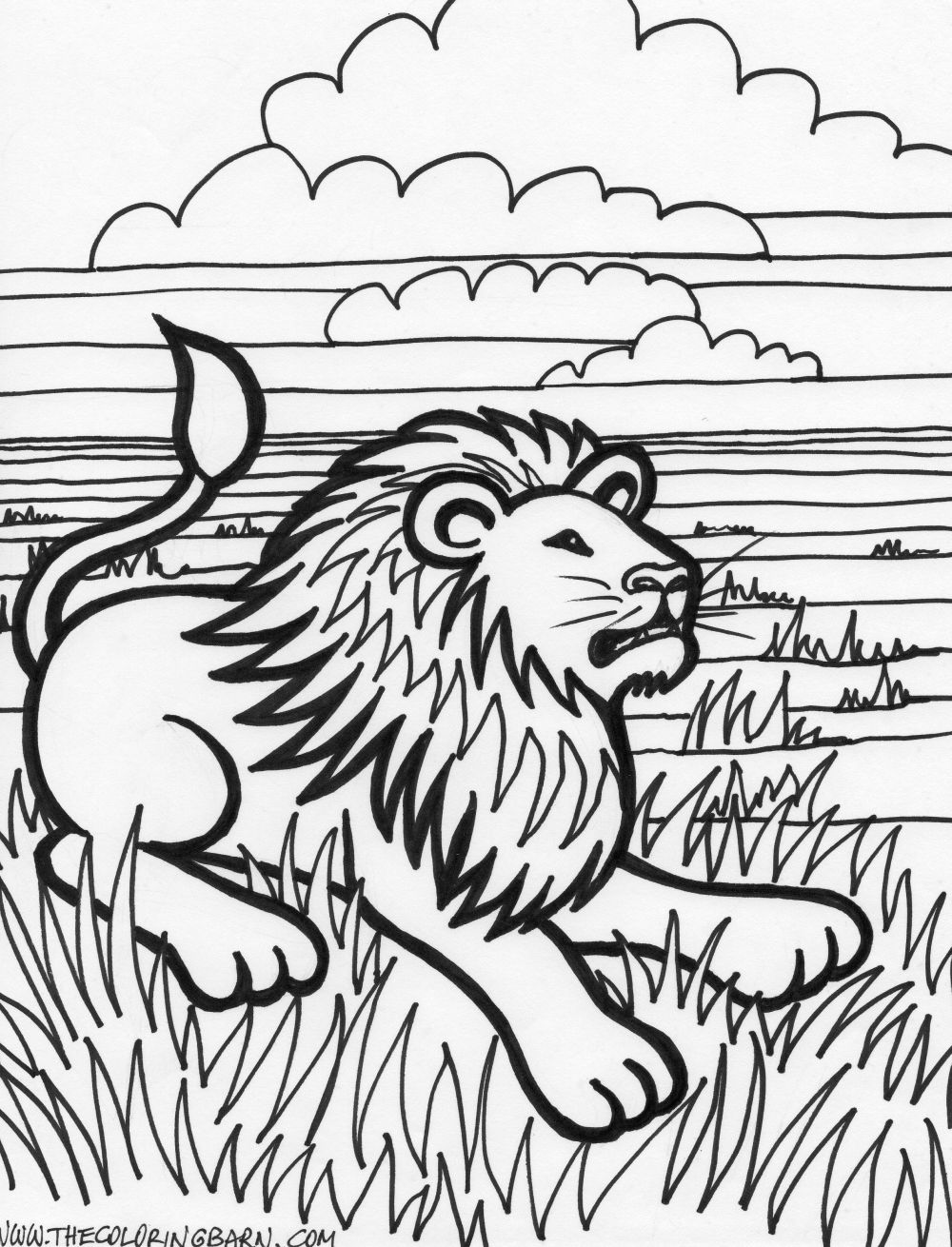 Tiger coloring coloring pages for Tiger coloring pages for kids