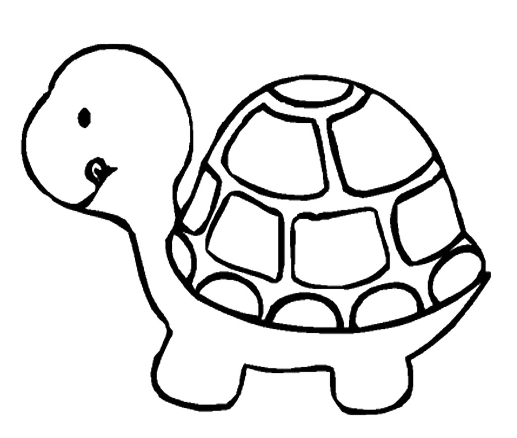 Turtle coloring page only coloring pages for Turtle coloring pages