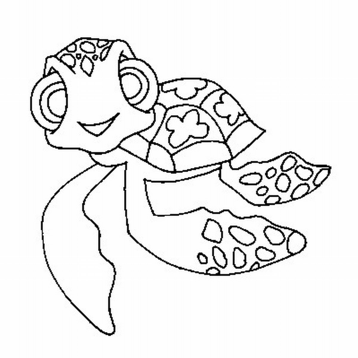 Turtle coloring page only coloring pages for Sea turtles coloring pages