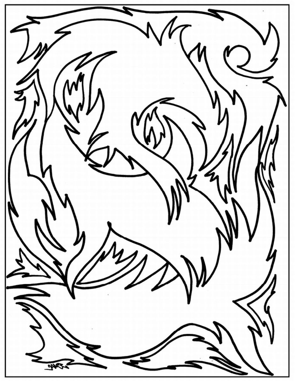 advanced free coloring pages - photo#20