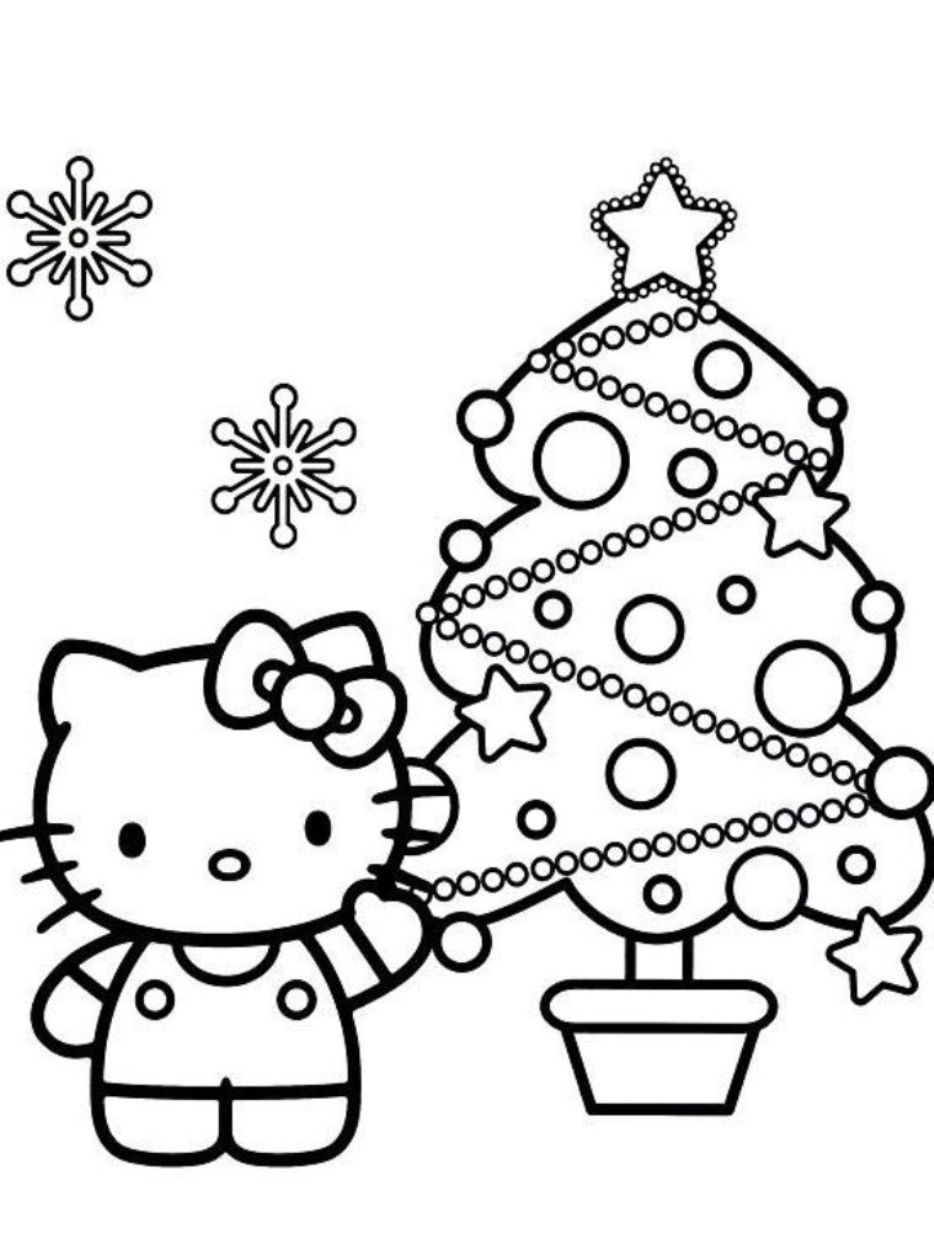 Coloring page hello kitty only coloring pages - Coloriage hello kitty ...