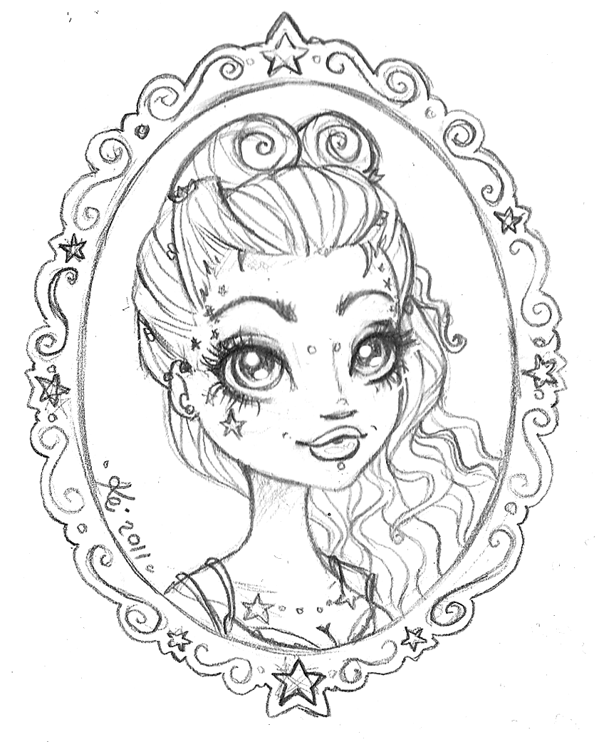 pin up girl coloring pages - coloring pages for girls 10 and up only coloring pages