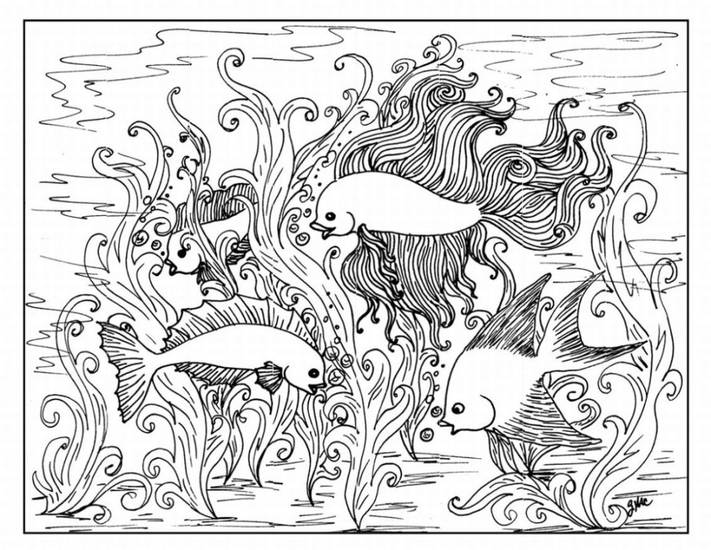 coloring pages of animals hard-#15