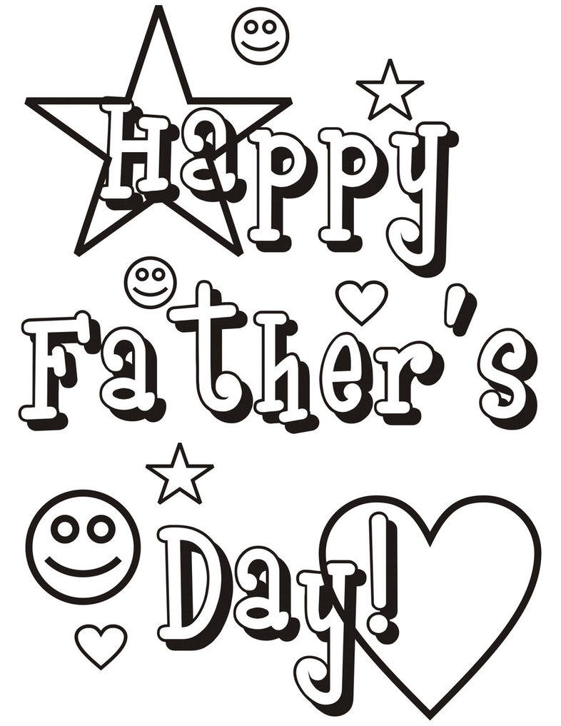 fathers day coloring pages 01