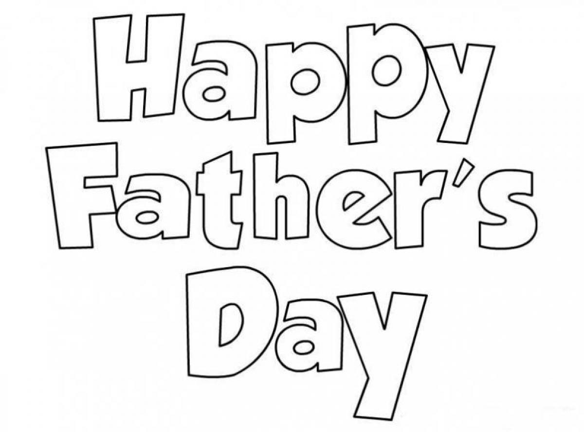 happy fathers day coloring page - fathers day coloring pages only coloring pages