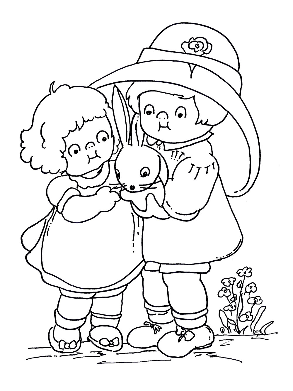 friend coloring pages - friendship day coloring pages only coloring pages
