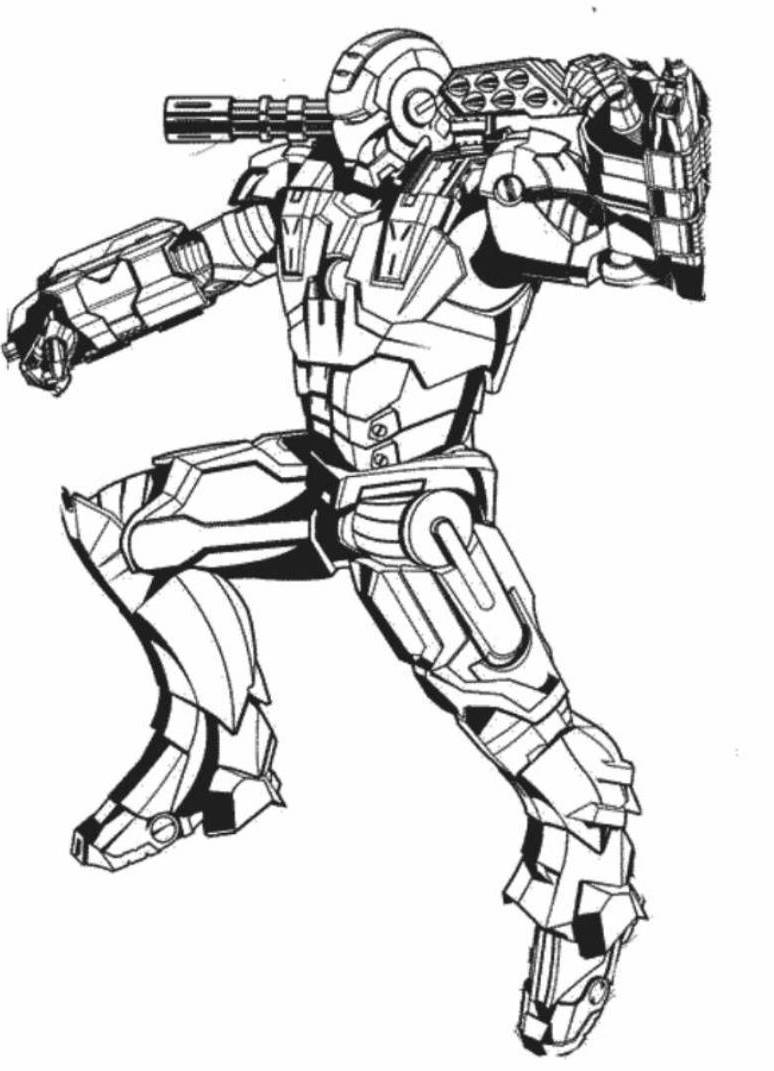 iron man coloring pages 23 - photo#22