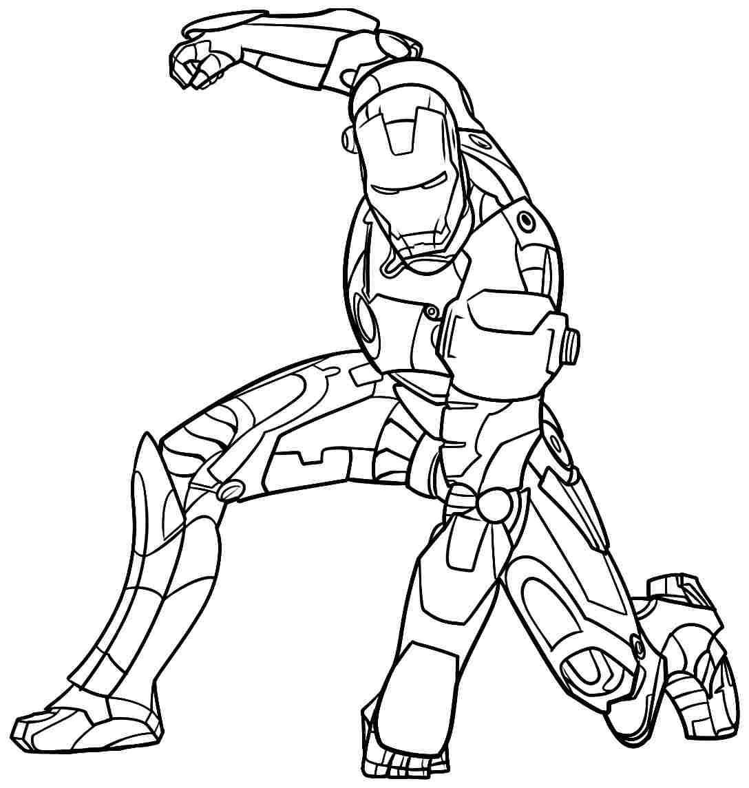 Ironman Coloring Pages 06