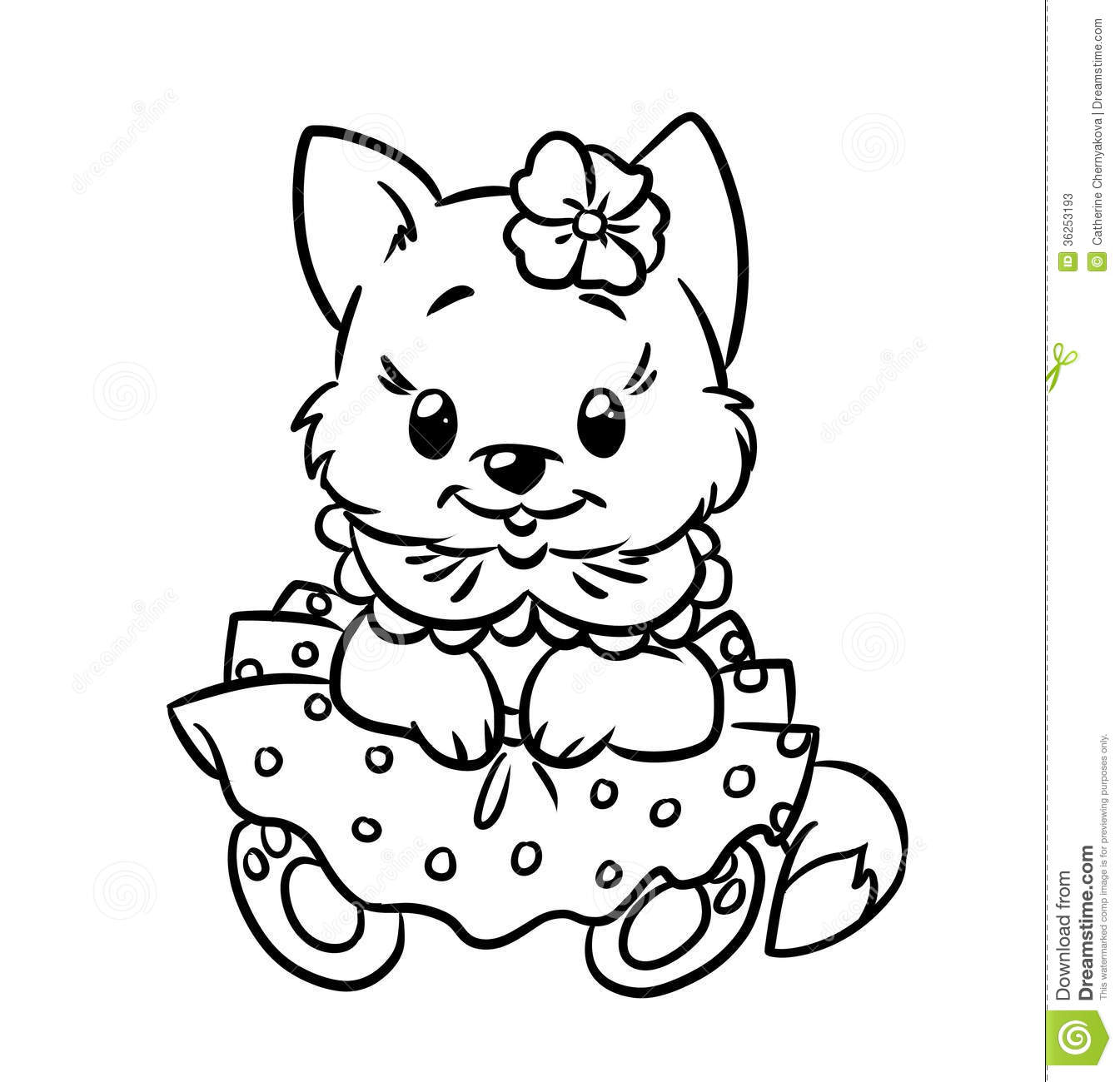 kitten coloring pages 01