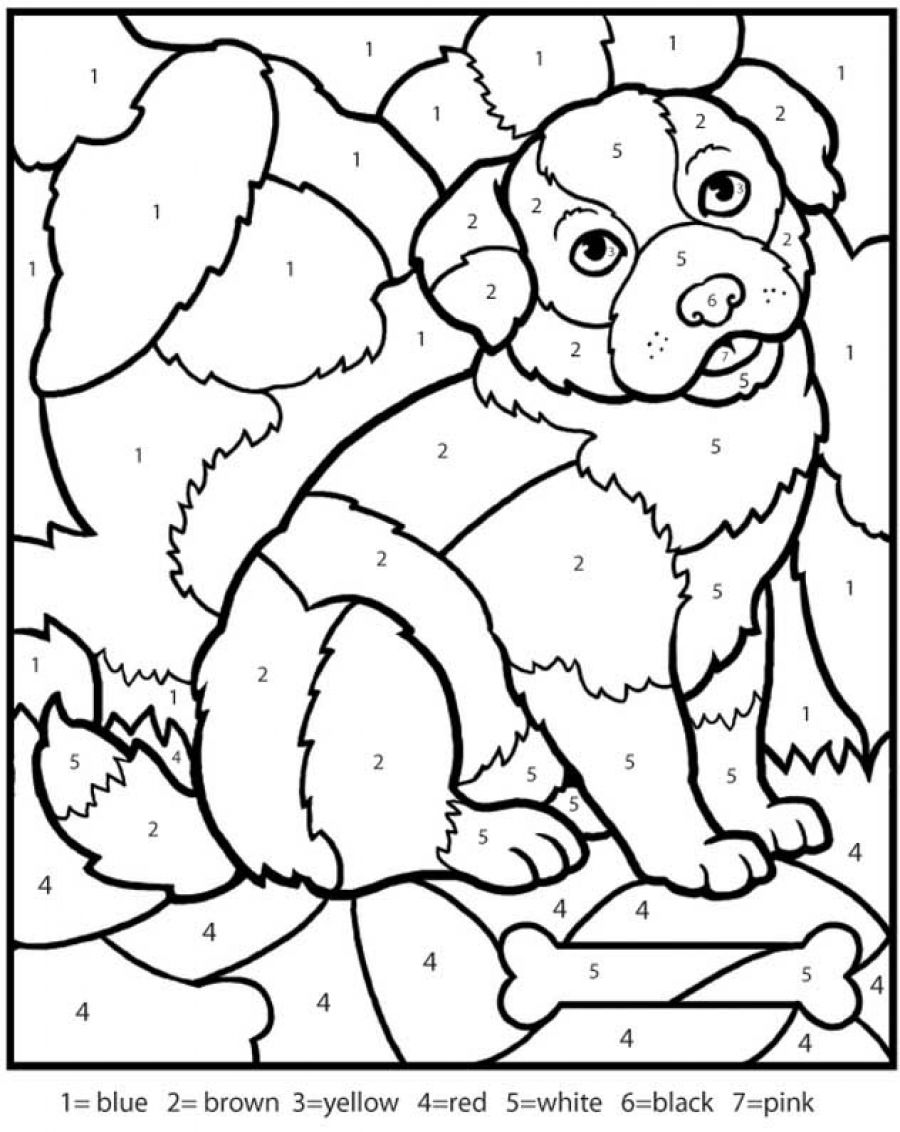 number coloring pages 01