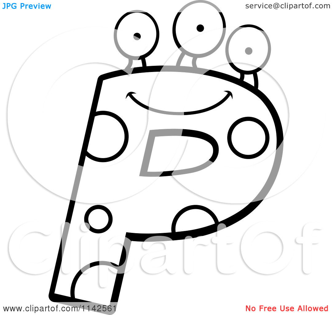 letter p coloring pages eume