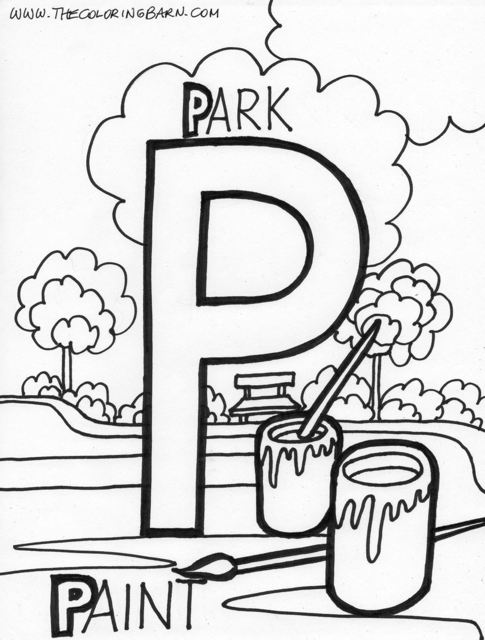 p i p coloring pages - photo #22