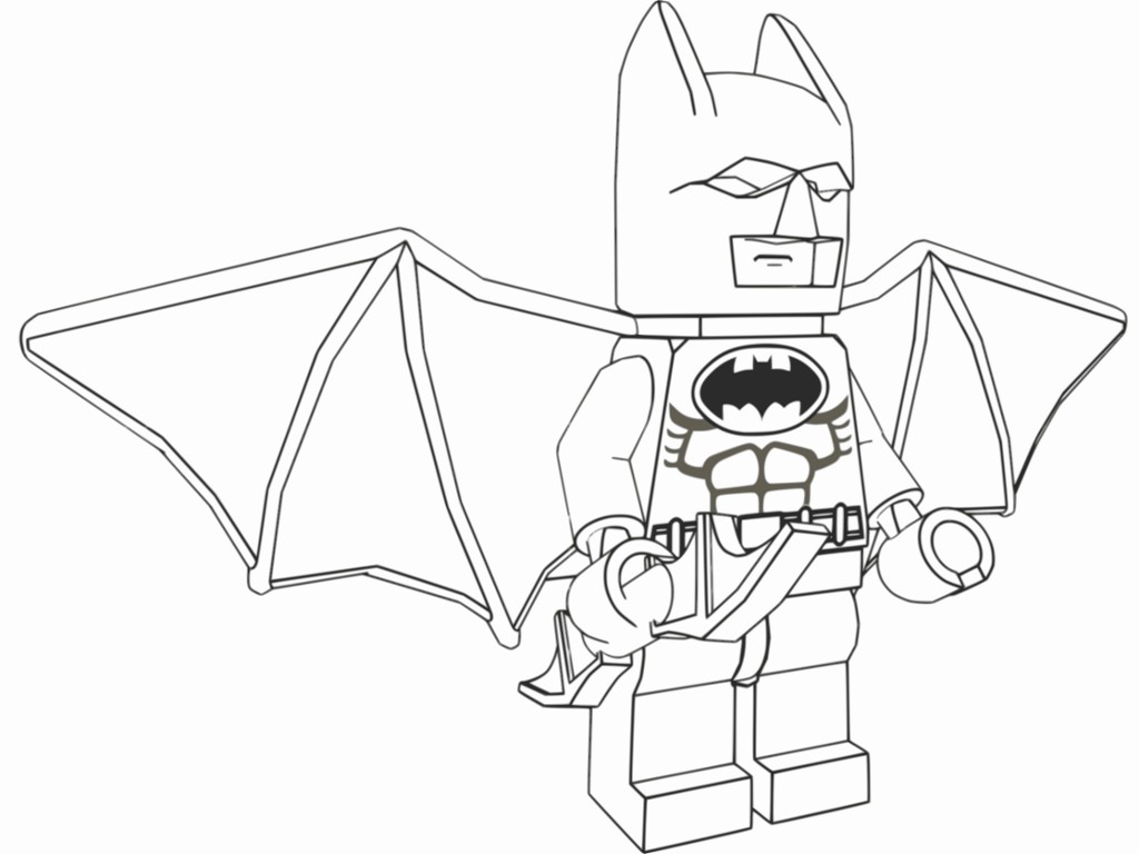 Printable Batman Coloring